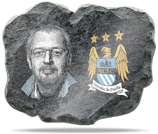 Manchester City Wall memorial Plaque