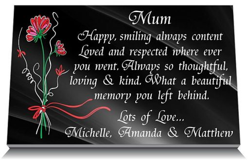 Memorial gifts for loss of mother UK