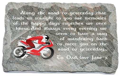 motorcycle memorial gifts