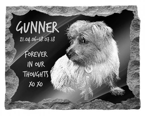 Norfolk Terrier Dog Memorial plaques