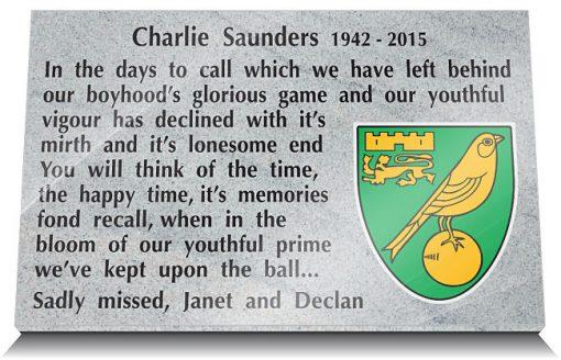 Norwich FC Memorials