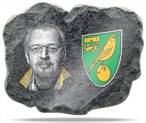 Norwich FC Wall memorial Plaque