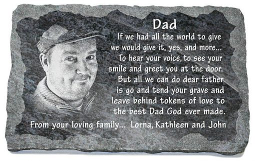 Personalized memorial gifts for loss of father