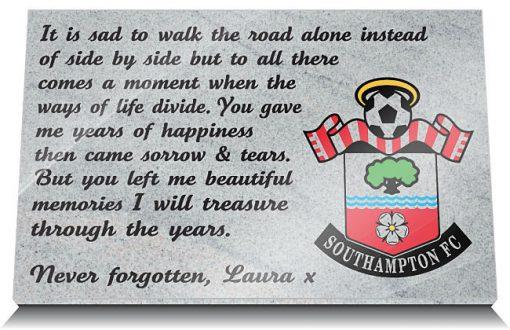Southampton FC Memorials
