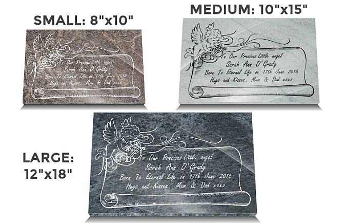 Stillborn Memorial Plaques | Babies