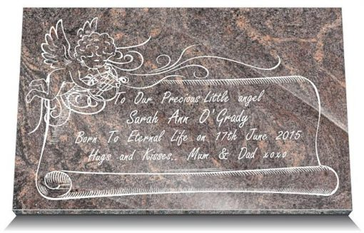 grave markers for stillborn babies Ireland and UK
