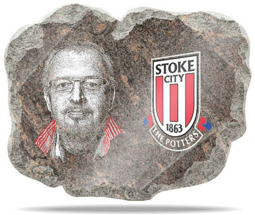Stoke City FC Wall memorial Plaque
