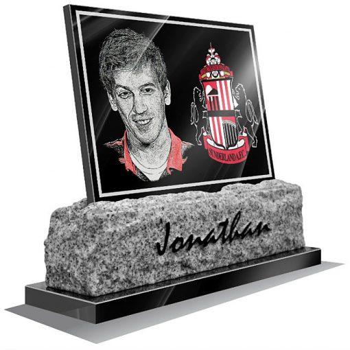 Sunderland AFC Memorial plaque for grave