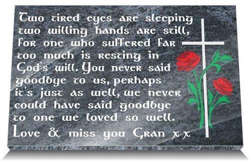 Sympathy gifts loss grandmother