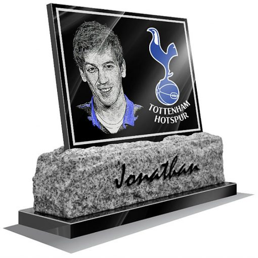 Tottenham Hotspur FC Memorial plaque for grave