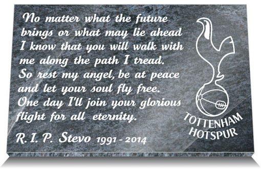 Tottenham Hotspur Memorial Plaque
