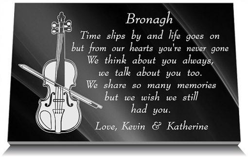 Memorial gifts for music teachers