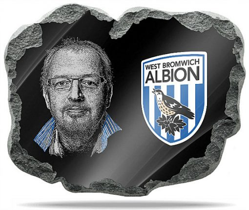 West Bromwich Albion wall memorial plaque
