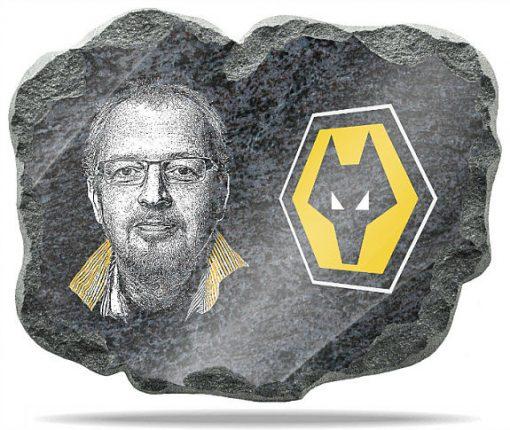 Wolverhampton FC wall memorial Plaque