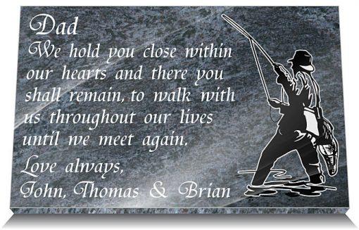 Fisherman memorial poem
