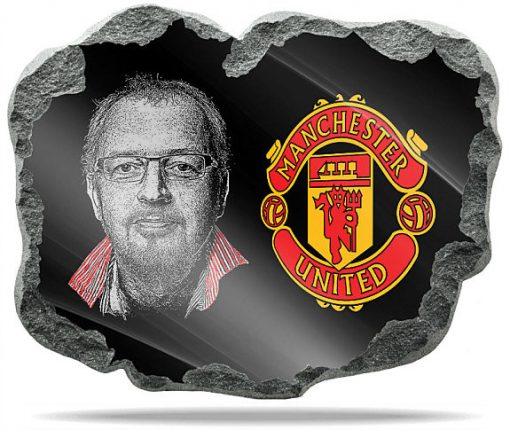 Manchester United Wall memorial Plaque