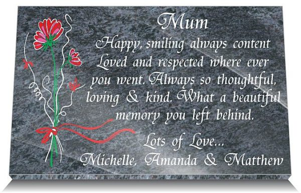 memorial gifts loss Mum