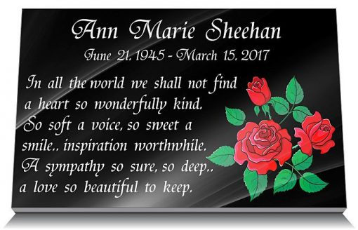 Mother's Day Grave Memorials with Remembrance Rose Gift
