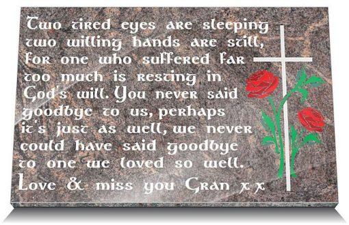 Sympathy gifts for loss of grandma