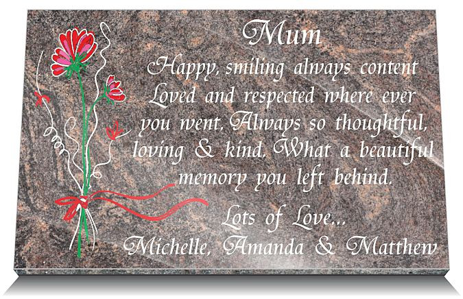 memorial gifts loss mum mother uk personalized unique grave memorials