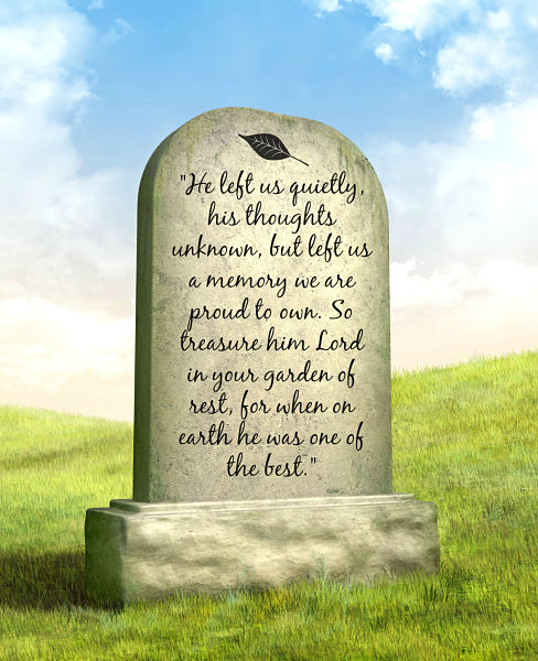 Memorial poem for Father epitaphs