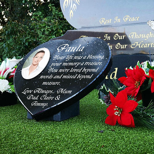 Granite Memorial Plaques with Photo Best Quality 2021
