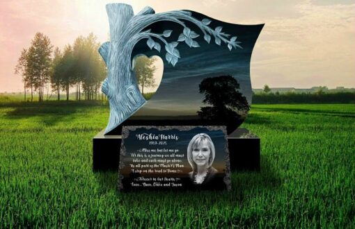 Headstone Picture Plaques for Graves latest design 2021
