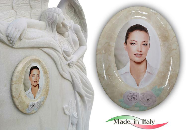 Gravestone Portrait Made in Italy