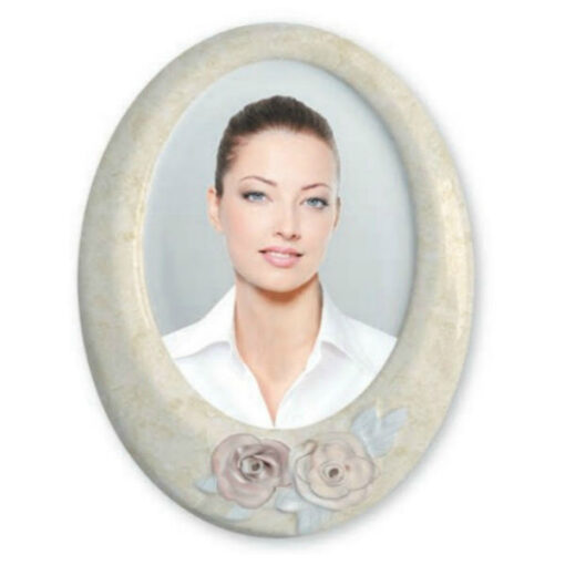 Porcelain Memorial Photographs for Mother with Roses