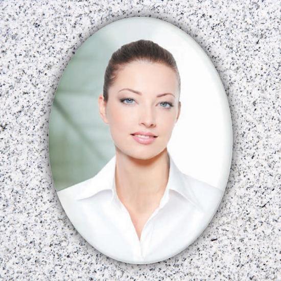 Oval Ceramic Photos for Headstones