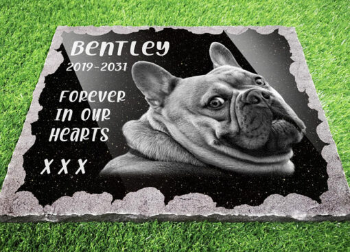 Ways to remember your doggy for gardens and outdoor dog graves