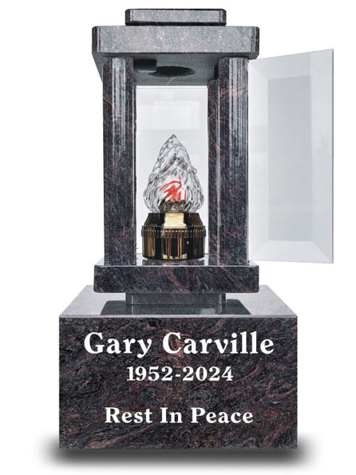 Graveside night lights with best battery for cemetery use