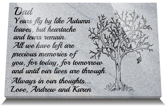 In Remembrance Poem for Dad