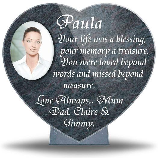 In Memoriam Verses for a sister or daughter