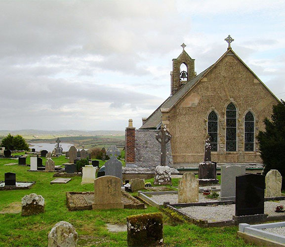 Do you need permission to put a headstone on a grave in Ireland?